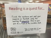 Reading is the quest for....?