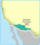 1853-Gadsden Purchase