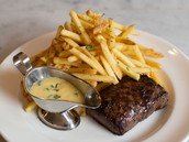 Notre steak-frites