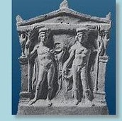 Castor and Pollux Carving