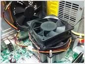 CPU AND CPU FAN
