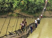 25 of the most dangerous and unusual journeys to school