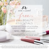 FREE Beauty Essentials in Feb