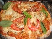 La pizza fruits de mer