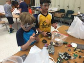 Students Working at Camp Invention
