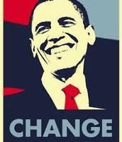 "Obama's ""CHANGE"" slogan"