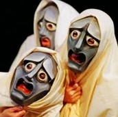 Acting out Greek Drama...