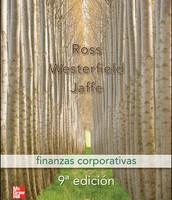 Finanzas corporativas de Stephen A. Ross, Randolph W. Westerfield y Jeffrey F. Jaffe