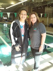 Leah Aragon Swimmer of the Month