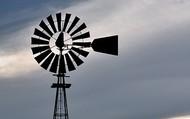Mid-century Windpump