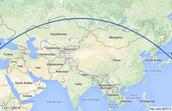 Europe to Asia