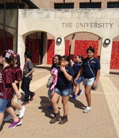 On Our Campus Tour!!
