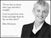 Peoples' Thoughts on Ellen.