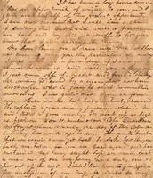 Letter from Sullivan Ballou to his wife, Sarah