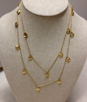 Demi layering necklace - gold $35