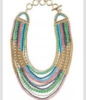 Zahara Bib Necklace