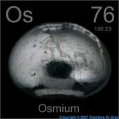 Properties of Osmium