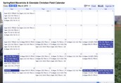 Club Wide Calendar of events and programming