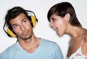 I don't like loud people