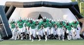 Goooooo, Hornet Football Team & Cheer Team & Band & Color Guard!!