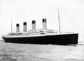 The Titanic in the Sea
