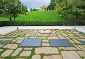 The Kennedy gravesite