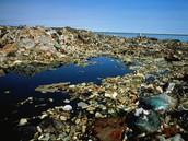La basura en el océano