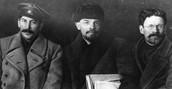 Stalin, Lenin, Trosky