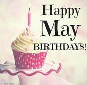 Happy Birthday in May!!