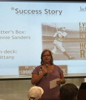 Home Run Hitter: Jeannie Sanders