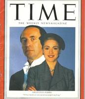 Juan and Eva Peron in Time