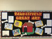 3rd Grade Has Paws-itivity Great Art