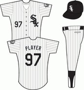 White Sox Home Uniform