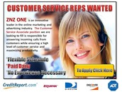 Customer Service Reps Wanted
