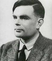 alan turing when he invented the turing machine.