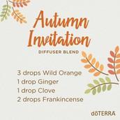 Herbst Einladung