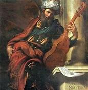 """דוד מנגן בכינורו - """"הביא 200 ערלות פלישתם כדי להתחתן איתה למרות שהתבקש להביא רק 100..."""""""