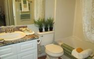 Updated Bathrooms w/ Granite Style Countertops