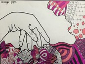 Hand or Tree Contour line project
