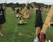 8th Grade Trebuchet Launch