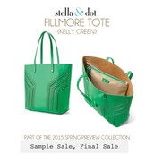 Fillmore Tote-Kelly Green