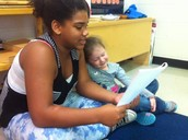 Nikera and Alice Reading