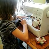 Super fun machine sewing camp in Crestview