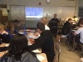 Mr. Salemie's                     Egg-spert Students