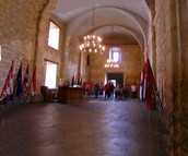 Inside of the Alamo