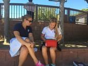 Abby interviews Ms. Evanilla
