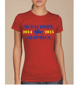 McEahern Graphics 2014- 2015 T-shirt Design