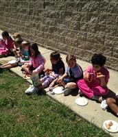 100 Book Club Pizza Lunch!