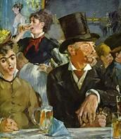 Al café-concert, Manet, 1878