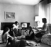 De oude tv